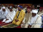 المغرب اليوم  - شاهد الملك محمد السادس يؤدي صلاة الجمعة داخل المسجد الوطني في أبوغا