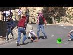 المغرب اليوم  - بالفيديو مواجهات بين متظاهرين فلسطينيين والجيش الإسـرائيلي في مدينة الخليل