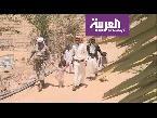 شاهد التحالف العربي يساعد العم سالم لعودته إلى صعدة