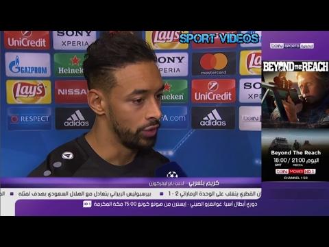 المغرب اليوم  - تصريح كريم بلعربي بعد هزيمة باير ليفركوزن أمام أتلتيكو مدريد 24