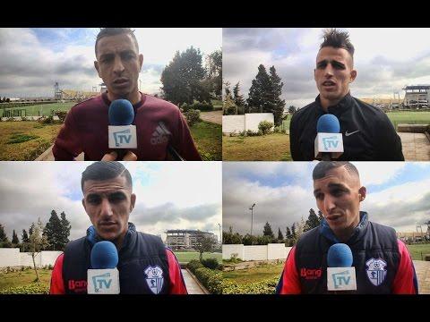 المغرب اليوم  - شاهد لاعبو اتحاد طنجة يتحدثون عن قوة مباراتهم أمام الرجاء
