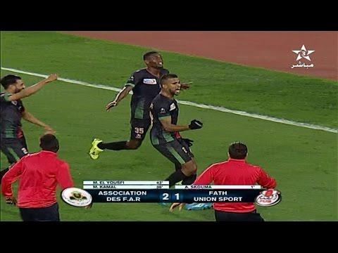 المغرب اليوم  - شاهد أهداف مباراة الجيش الملكي والفتح الرباطي