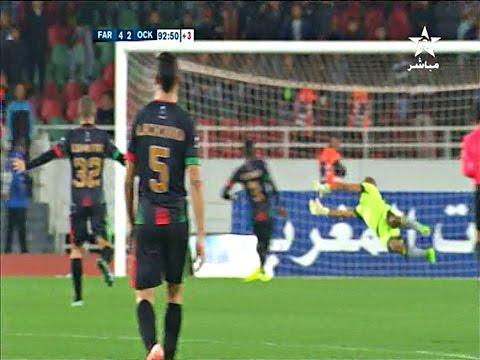 المغرب اليوم  - شاهد أهداف مباراة الجيش الملكي وأولمبيك خريبكة