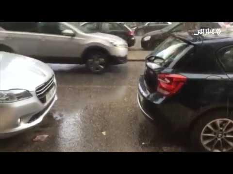 المغرب اليوم  - شاهد تساقط البرد في مدينة الدار البيضاء