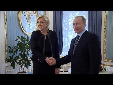 المغرب اليوم  - بالفيديو الرئيس بوتين يلتقي بمارين لوبان زعيمة الجبهة الوطنية