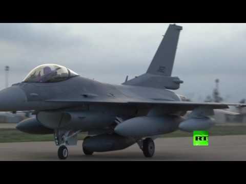 المغرب اليوم  - بالفيديو  العراق يتسلم دفعة جديدة من مقاتلات إف 16 الأميركية