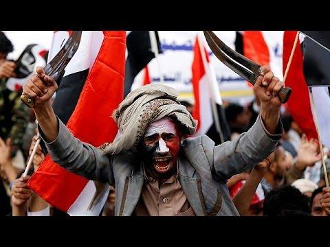 المغرب اليوم  - بالفيديو مظاهرة حاشدة في صنعاء في الذكرى الثانية على بدء الحملة العسكرية للتحالف العربي