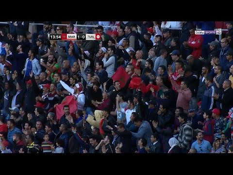 المغرب اليوم  - شاهد هدف انتصار المنتخب المغربي على نظيره التونسي في 2017