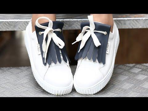 المغرب اليوم  - تعلمِ ابتكار إكسسوار من صنع يديك لحذائك