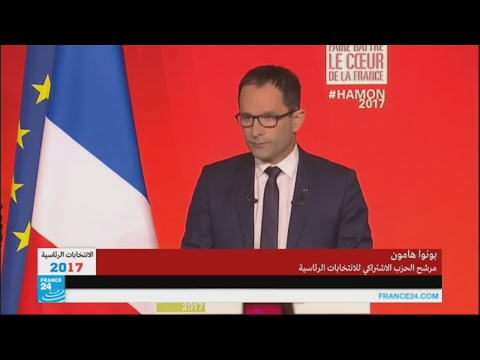 المغرب اليوم  - شاهد تصريحات بونوا هامون بعد إعلان إقصائه من الدورة الأولى