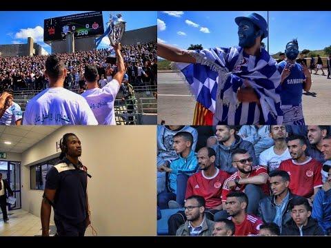شاهد كواليس وأجواء مباراة اتحاد طنجة أمام نظيره الوداد البيضاوي