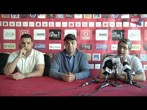 المغرب اليوم  - شاهد بدء المؤتمر الصحافي لمنافسات ديربي الشمال