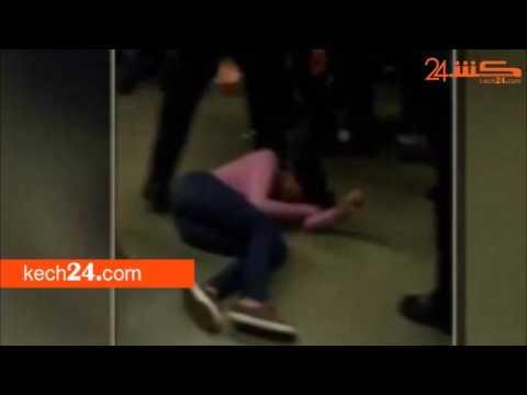 المغرب اليوم  - شاهد لقطات مروعة لمدرس يٌعذب تلميذة داخل الفصل في مراكش
