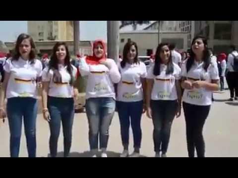 المغرب اليوم  - بالفيديو تخرّج دفعة ألسن ألماني على أنغام محمد حماقي