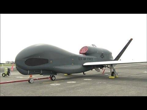 المغرب اليوم  - بالفيديو صورة قريبة لطائرة الاستطلاع الأميركية غلوبال هوك