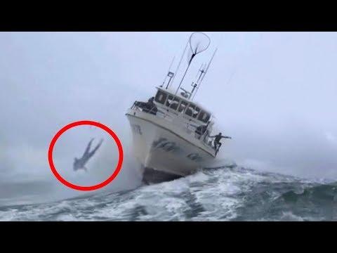 المغرب اليوم  - شاهد أغرب حوادث السفن التي تم تصويرها