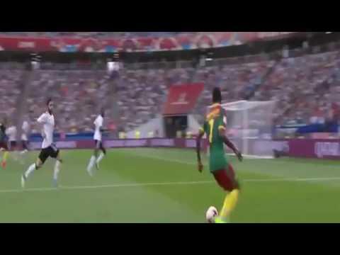 المغرب اليوم  - شاهد الألمان يسحقون المنتخب الكاميروني بثلاثة أهداف