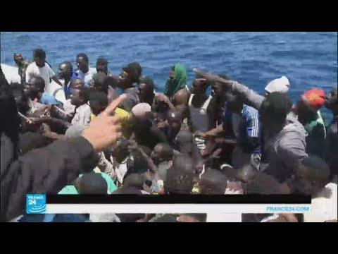 المغرب اليوم  - إنقاذ 8300 مهاجر في البحر المتوسط خلال 48 ساعة