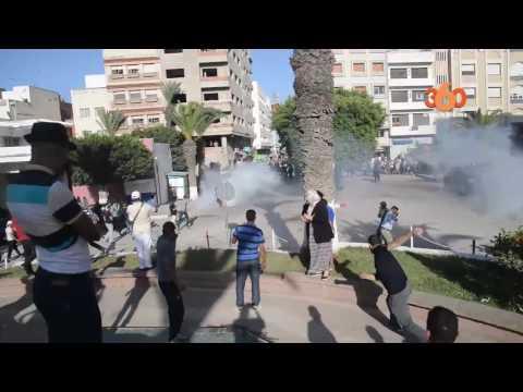 المغرب اليوم  - شاهد مواجهات عنيفة بين المواطنين وقوات الأمن في الحسيمة