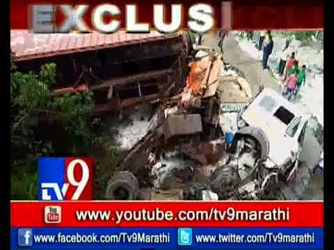 المغرب اليوم  - حادث عنيف على طريق مومباي يتسبب في انهيار جسر حاويات