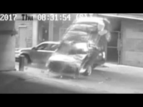 المغرب اليوم  - سائق ينجو من الموت في اللحظات الأخيرة