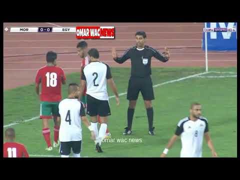 المغرب اليوم  - شاهد مراوغة نجم المغرب محمد أوناجم الرائعة للاعب منتخب مصر