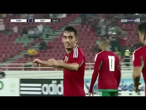 المغرب اليوم  - شاهد هدف المنتخب المغربي الثالث في مرمى مصر
