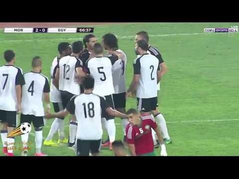 المغرب اليوم  - شاهد منتخب مصر للمحليين يودع تصفيات أمم أفريقيا بثلاثية المغرب
