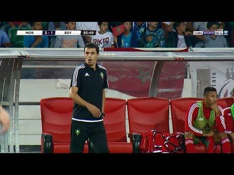 المغرب اليوم  - شاهد السمومي يسجل هدفًا بالخطأ في مرماه ويقلص النتيجة للمنتخب المصري