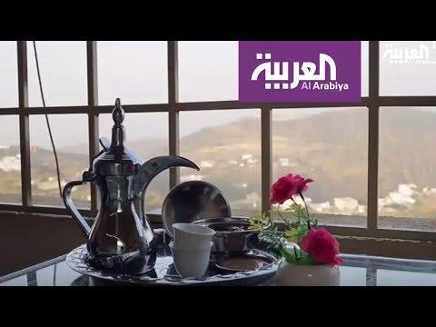 المغرب اليوم  - بالفيديو شاب سعودي يحوِّل سطح بيته إلى مقهى