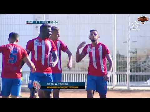 المغرب اليوم  - شاهد أهداف مباراة المغرب التطواني وأولمبيك آسفي
