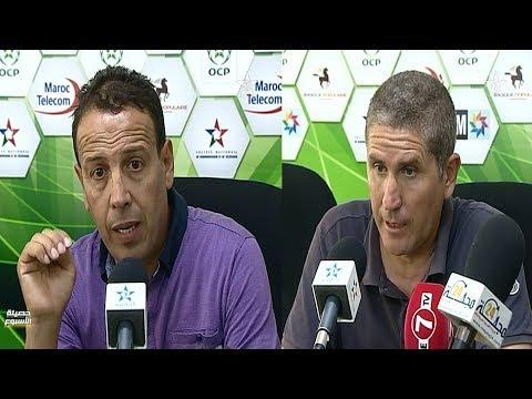 المغرب اليوم  - شاهد تصريحات المدربين كاريدو وايت جودي
