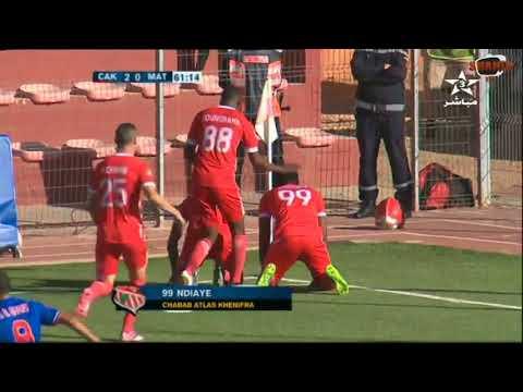 المغرب اليوم  - شاهد أهداف مباراة شباب أطلس خنيفرة والمغرب التطواني