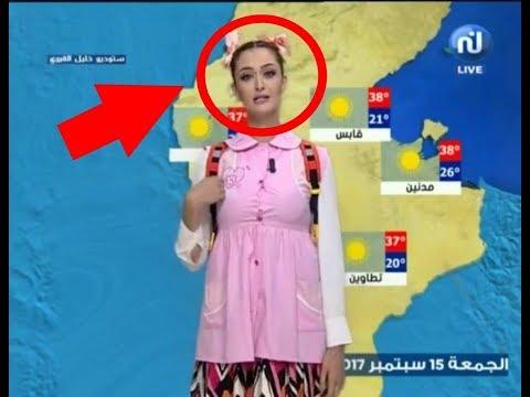 المغرب اليوم  - شاهد مذيعة عربية تقدم النشرة الجوية بملابس المدرسة