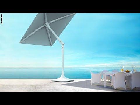 المغرب اليوم - سان فلاور مظلة تتبع أشعة الشمس لتحميك منها