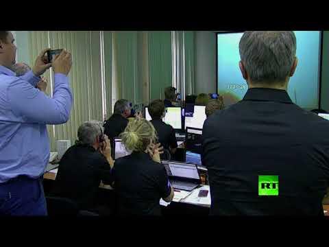 المغرب اليوم - شاهد لحظة إطلاق صاروخ روسي يحمل قمرًا صناعيًا أوروبيًا