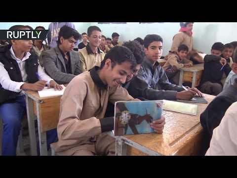 المغرب اليوم - شاهد بدء سنة دراسية في صنعاء