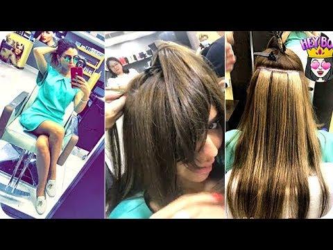 المغرب اليوم - مريم حسين تركب إكستنشن شعر