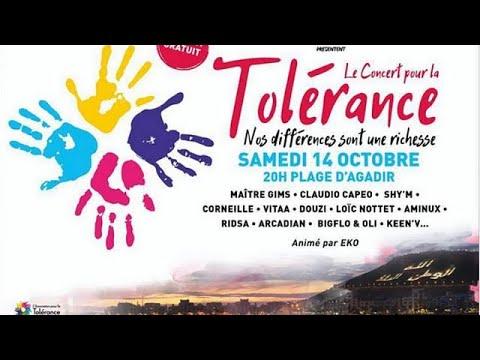 المغرب اليوم - شاهد حفلة التسامح في أغادير يستقطب الآلاف من عشاق الفن