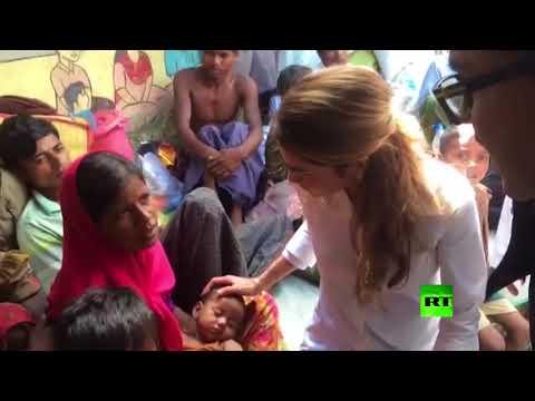 المغرب اليوم - ملكة الأردن رانيا العبد الله ترصد عن قرب معاناة الروهينغا