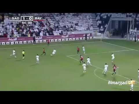 شاهد هدف عبد الرزاق حمد الله في مباراة السد القطري أمام الريان