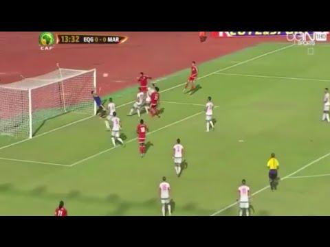 بالفيديو  الهدف الوحيد الذي استقبله المغرب في تصفيات المونديال