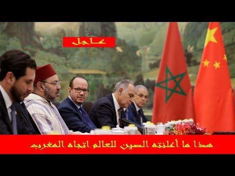 بالفيديو  الصين تؤكد دعمها جهود المغرب للحفاظ على وحدته