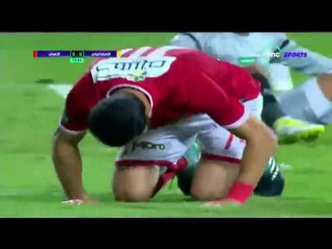 شاهد هدف الأهلي الأول ضد الإسماعيلي بقدم السولية