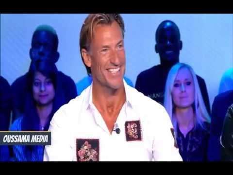 شاهد هيرفي رونار يتحدث بالدارجة المغربية على قناة فرنسية