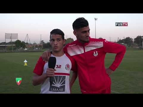 شاهد تدريبات فريق الفتح الرباطي في المغرب