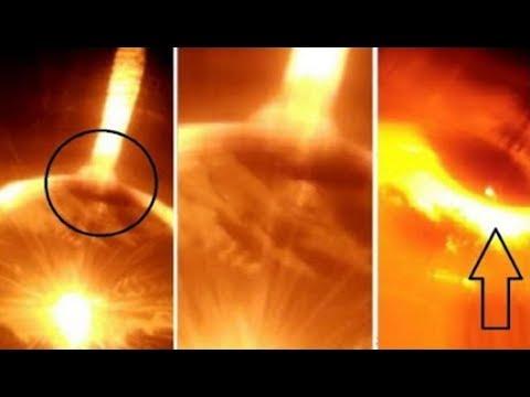 شاهد حدوث شيء نادر بخصوص الشمس