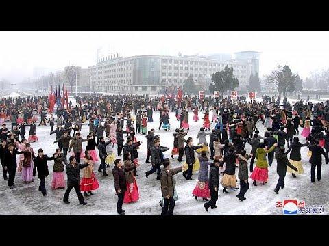 شاهد مسؤولو كوريا الشمالية يمارسون الرياضة