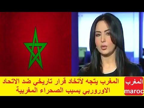 شاهد المغرب يتجه لاتخاد قرار تاريخي ضد الاتحاد الأوروربي