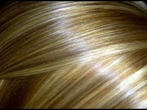 شاهد طريقة الحصول على شعر أشقر ذهبي بصبغة طبيعية